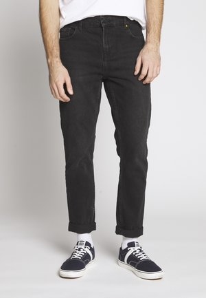 WASHED - Džíny Relaxed Fit - black denim