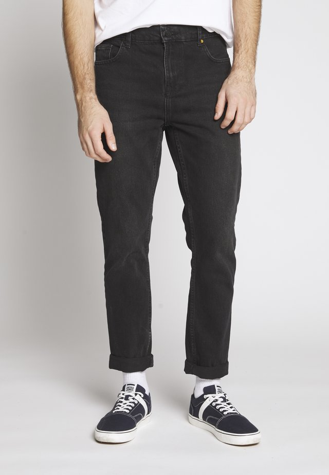WASHED - Jeans relaxed fit - black denim