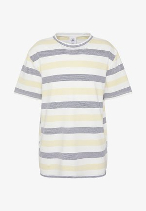 STRIPE TEE - Print T-shirt - yellow