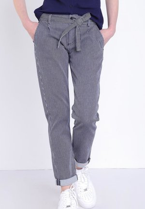 Pantalones - stone blue denim