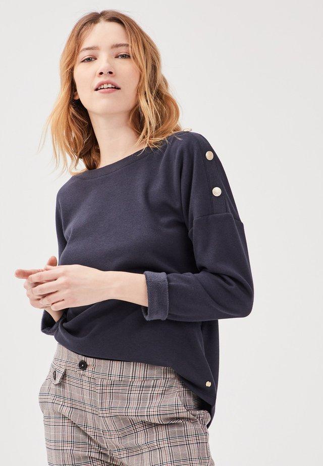 Sweatshirt - dark blue