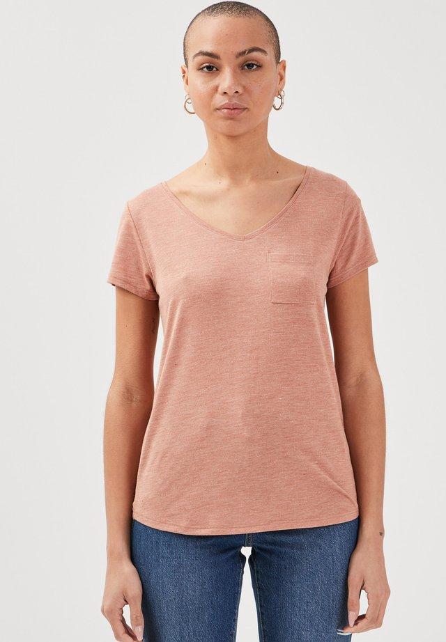 T-shirt basique - vieux rose