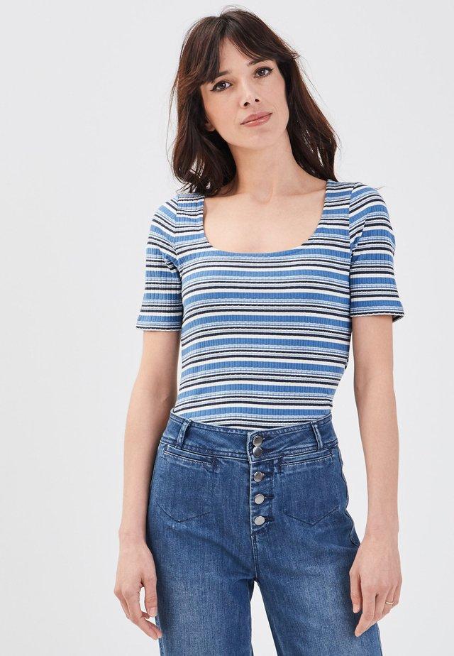 UMWELTBEWUSSTES  - T-Shirt print - dark blue