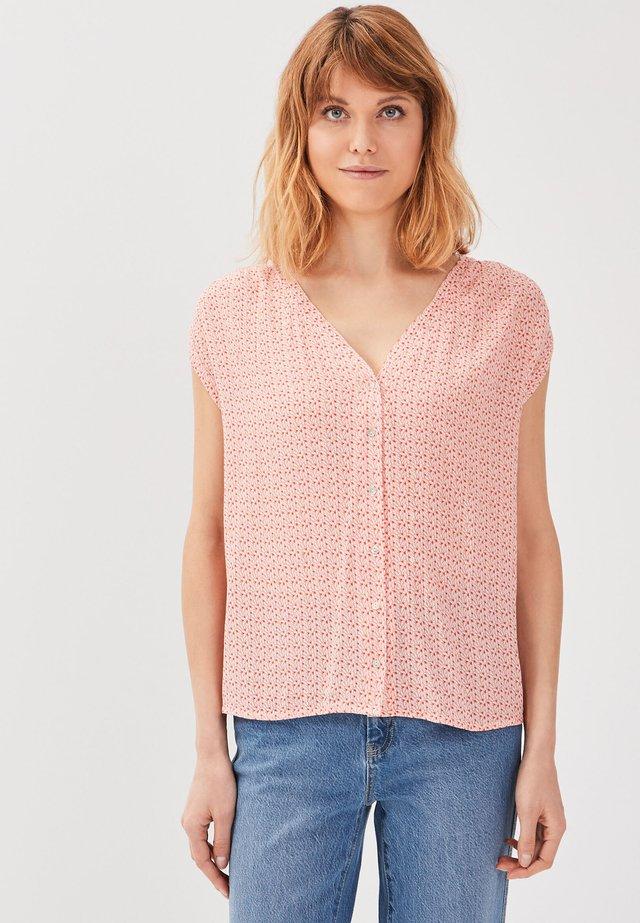 Bluse - rose corail