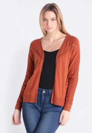 MIT LOCHMUSTER - Vest - dark orange