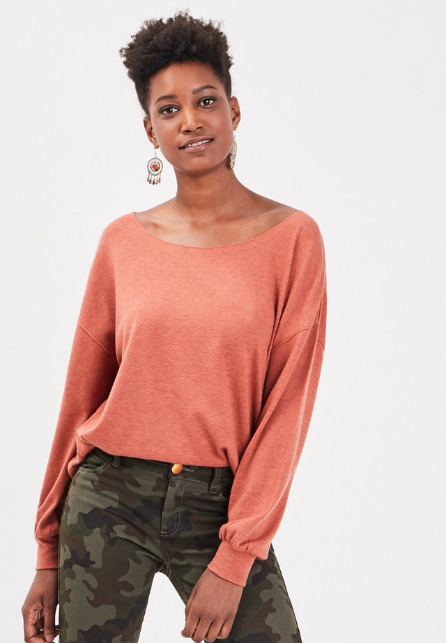 Jersey de punto - mottled pink