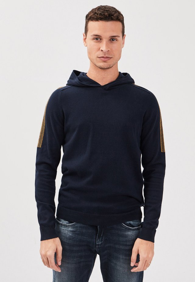 Jersey con capucha - dark blue