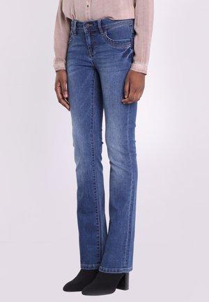 INSTINCT - Bootcut jeans - denim stone