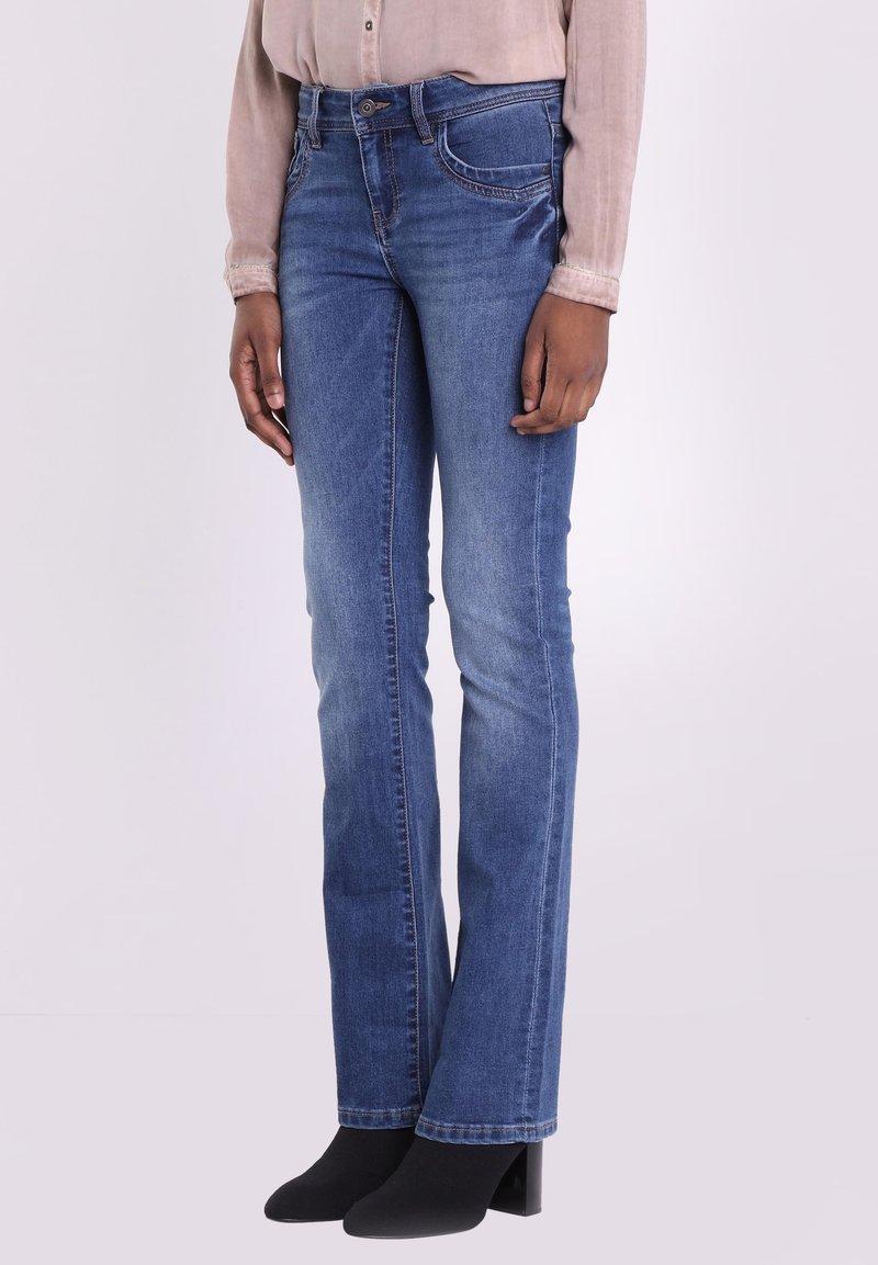 BONOBO Jeans - INSTINCT - Jeans Bootcut - denim stone