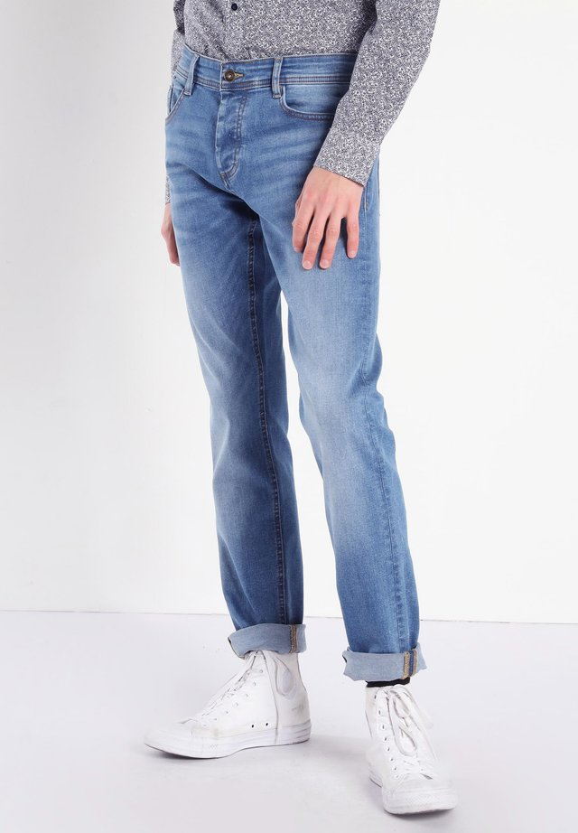 USED-EFFEKT - Jeans Slim Fit - blue denim