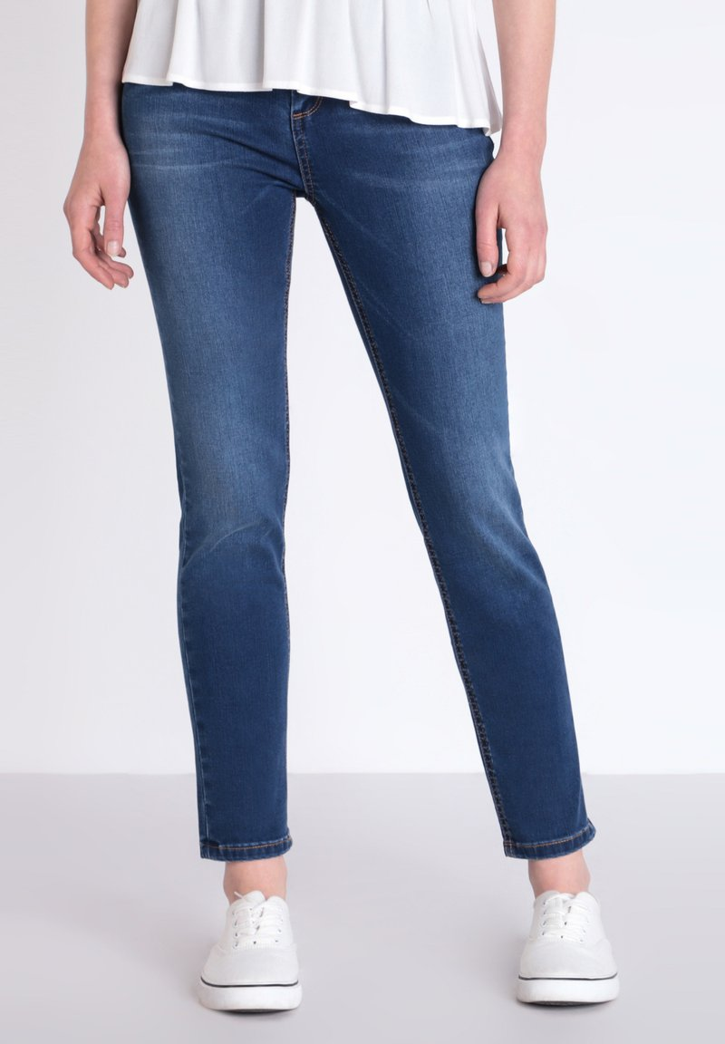 BONOBO Jeans - INSTINCT - Jeans Slim Fit - stone blue denim