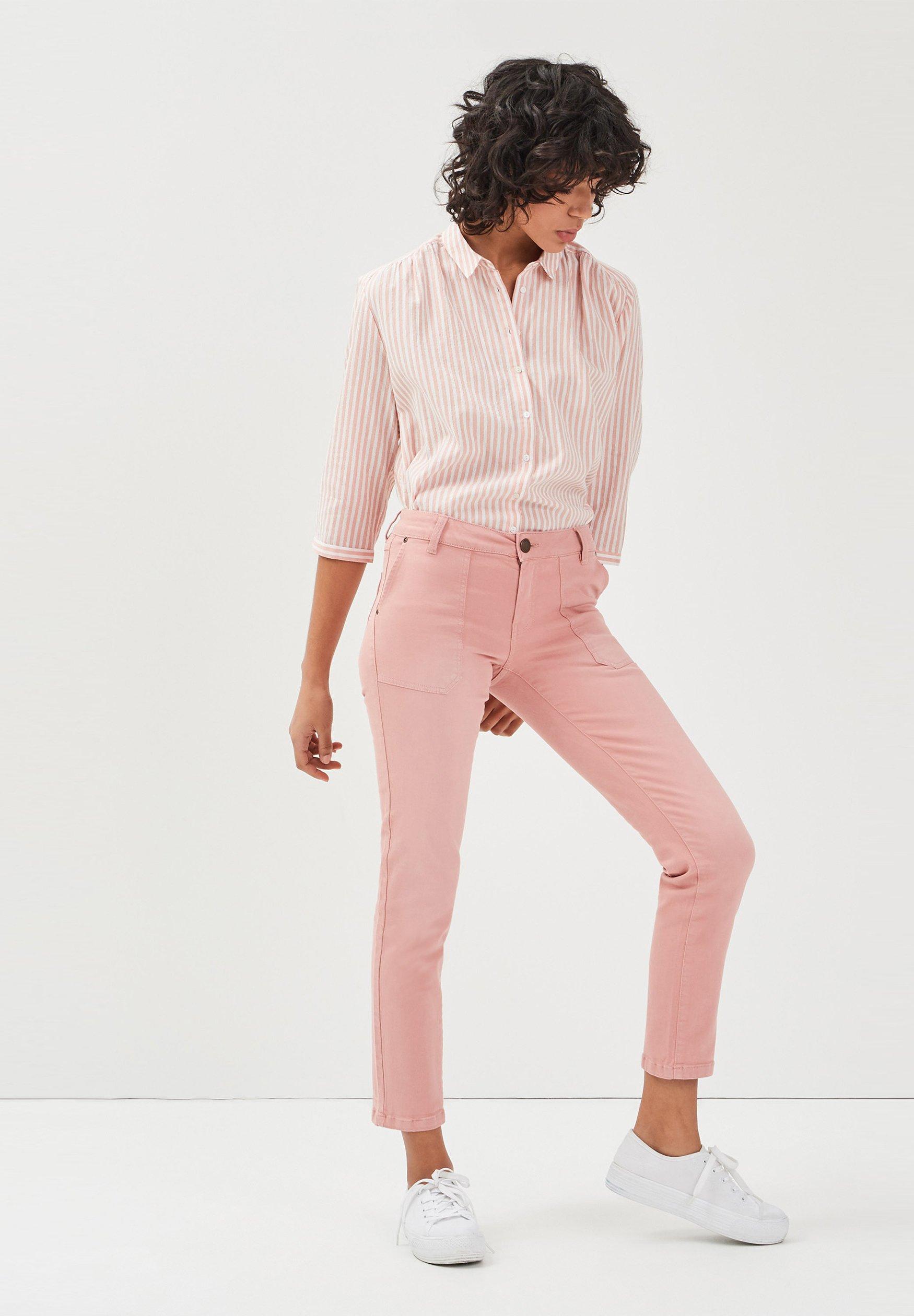 BONOBO Jeans Chemisier rose pastel ZALANDO.FR