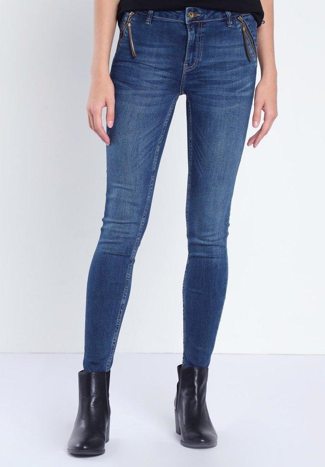 Jeans Skinny - denim brut