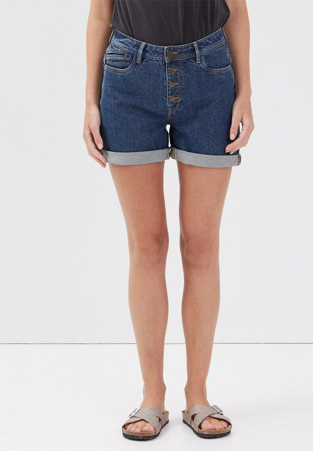 Short en jean - denim brut