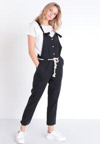 BONOBO Jeans - JEANS  OVERALLS - Tuinbroek - noir - 0