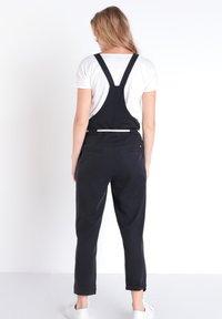 BONOBO Jeans - JEANS  OVERALLS - Tuinbroek - noir - 2