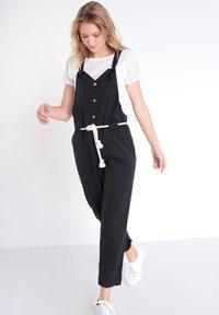 BONOBO Jeans - JEANS  OVERALLS - Tuinbroek - noir - 1