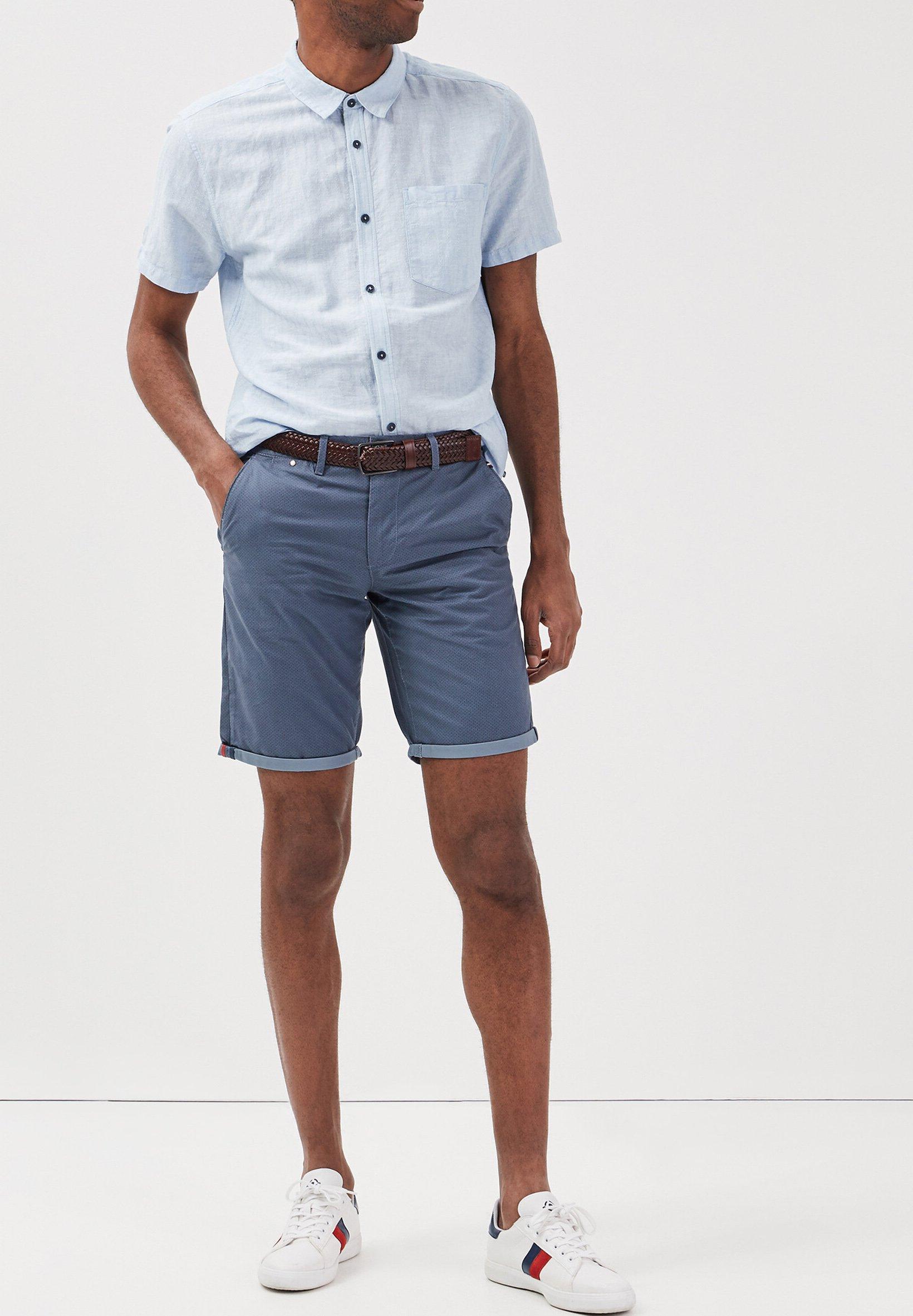 BONOBO Jeans Short - bleu gris - ZALANDO.