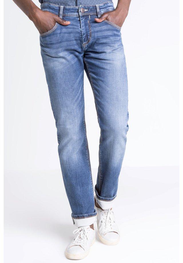 BONOBO  - Jeans a sigaretta - stone blue denim