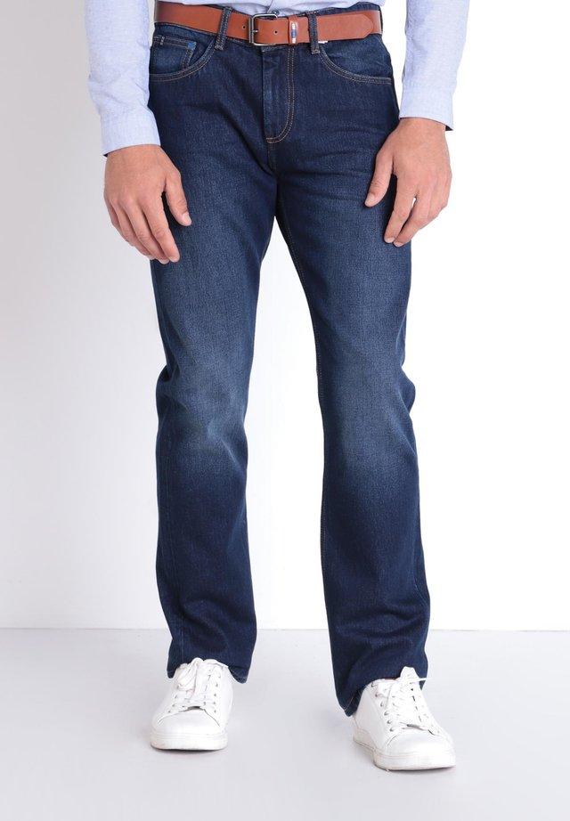 Jeans a sigaretta - raw denim