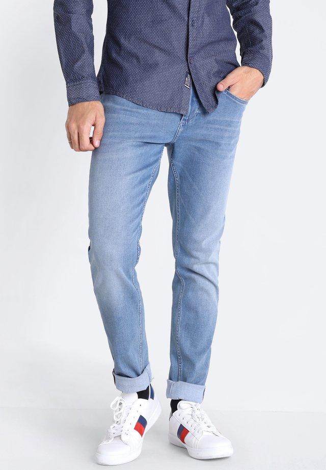 MIT 5 TASCHEN - Jean slim - denim used