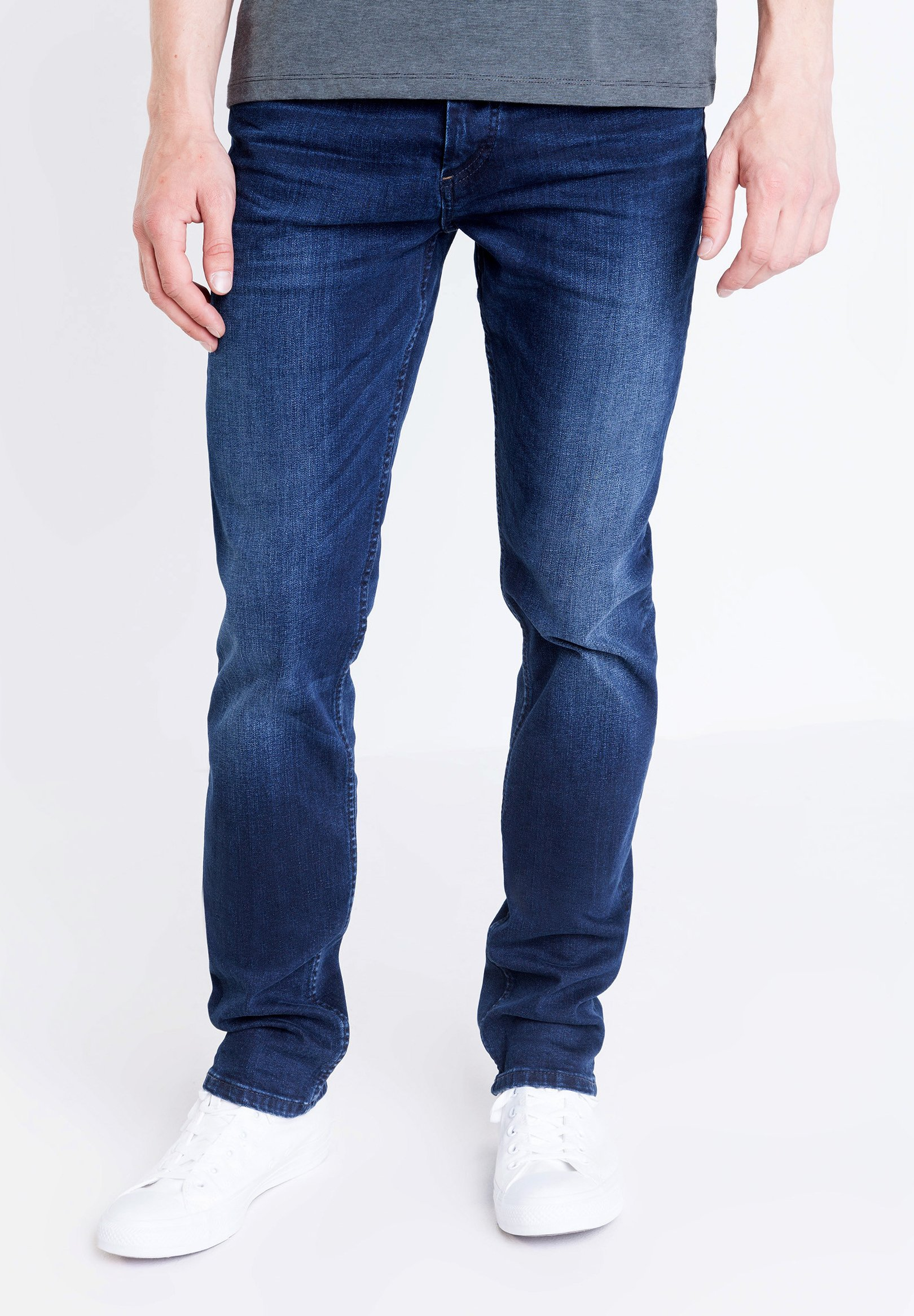Bonobo Jeans Straight Leg - Denim Stone MCo0W9T