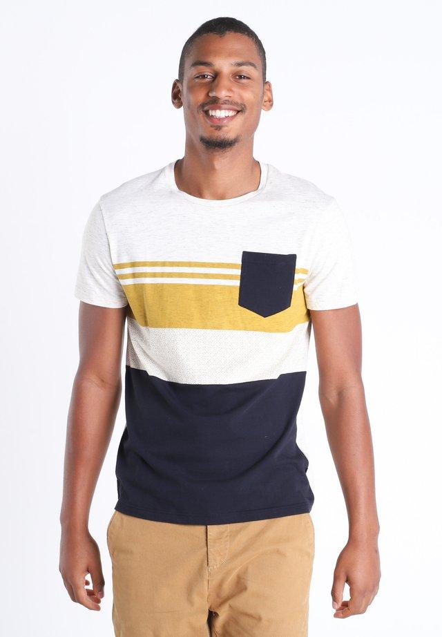 T-shirt imprimé - jaune