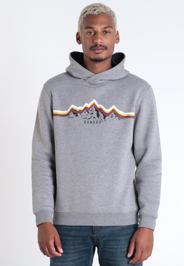 MIT KAPUZE - Hoodie - dark grey