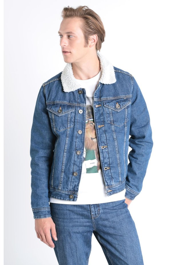 Veste en jean - stone blue denim