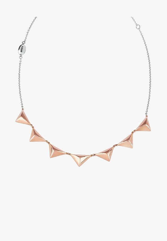 ROCKERS - Necklace - rose gold-coloured