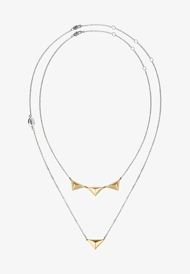 ROCKERS  - Necklace - silver/gold