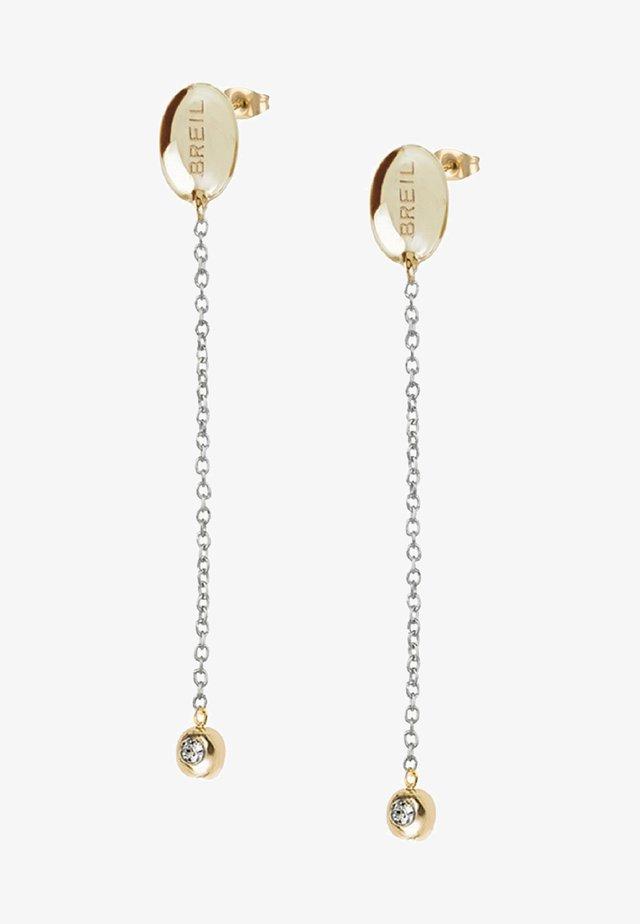 SUNLIGHT  - Earrings - silver-gold