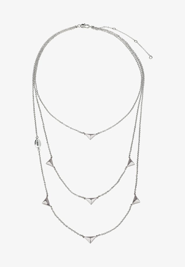 DONNA - Necklace - silver-coloured