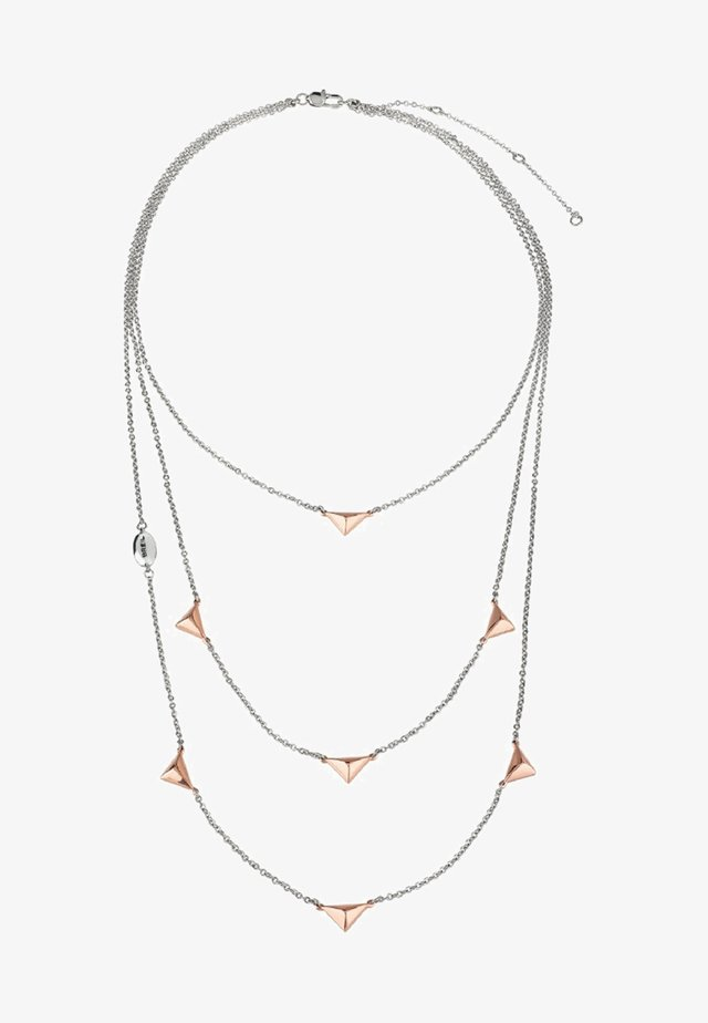 DONNA - Necklace - silver/rose
