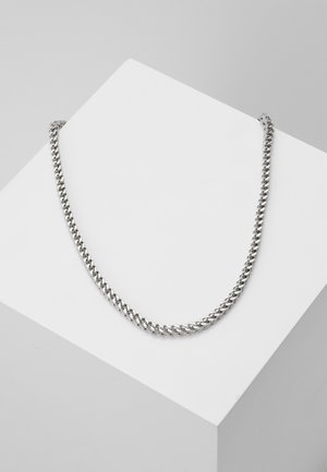 GROOVY NECKLACE - Halskette - silver-coloured