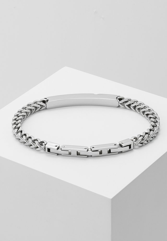 GROOVY BRACELET - Armband - silver-coloured