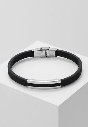 SNAP BRACELET - Armband - black