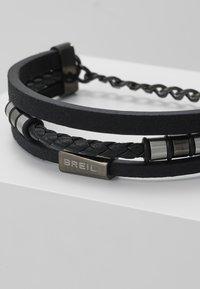 Breil - OUTER BRACELET - Náramek - black/gunmetal - 4