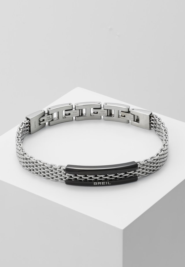 SNAP BRACELET - Armband - silver-coloured