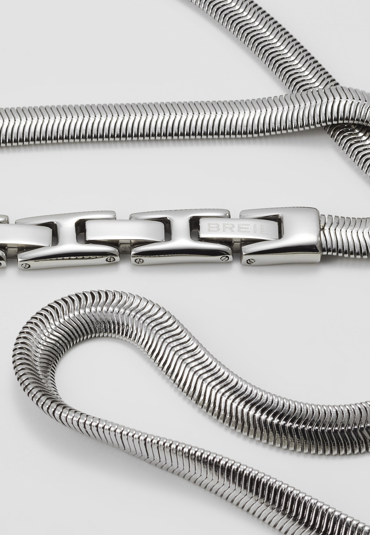 Breil Viper Gift Set - Halsband Silver-coloured