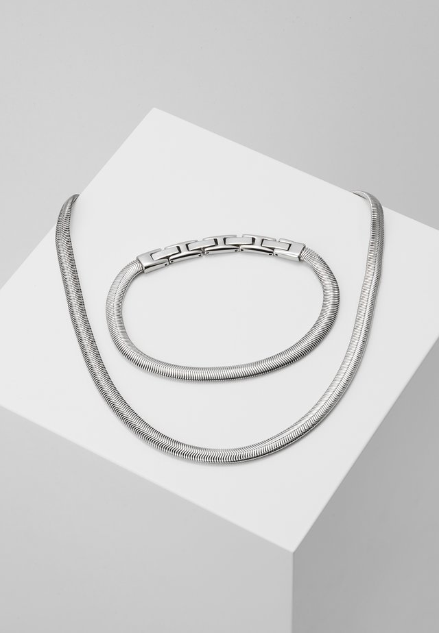 VIPER GIFT SET - Necklace - silver-coloured