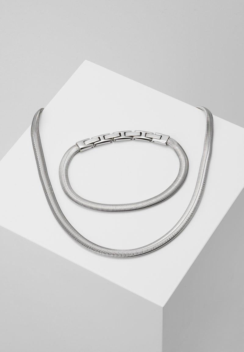 Breil - VIPER GIFT SET - Necklace - silver-coloured