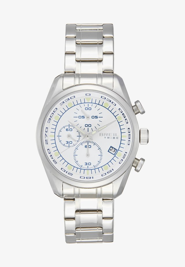 SPOILER - Chronograph watch - silver-coloured