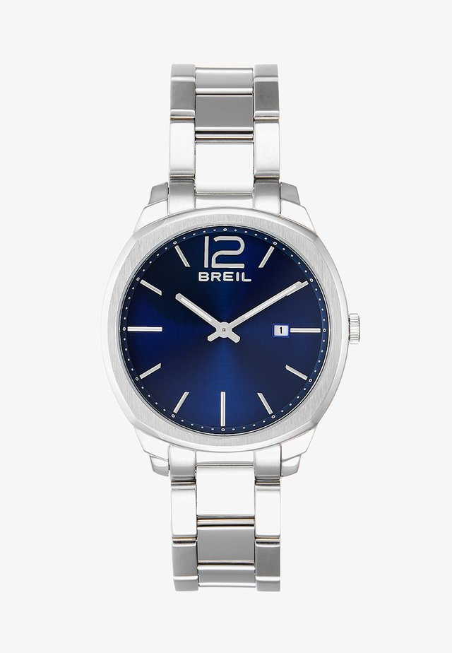 CLUBS 2-HAND - Horloge - silver-coloured/blue