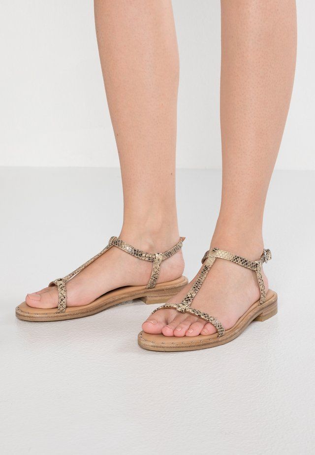 THRILL - Sandals - cappuccino