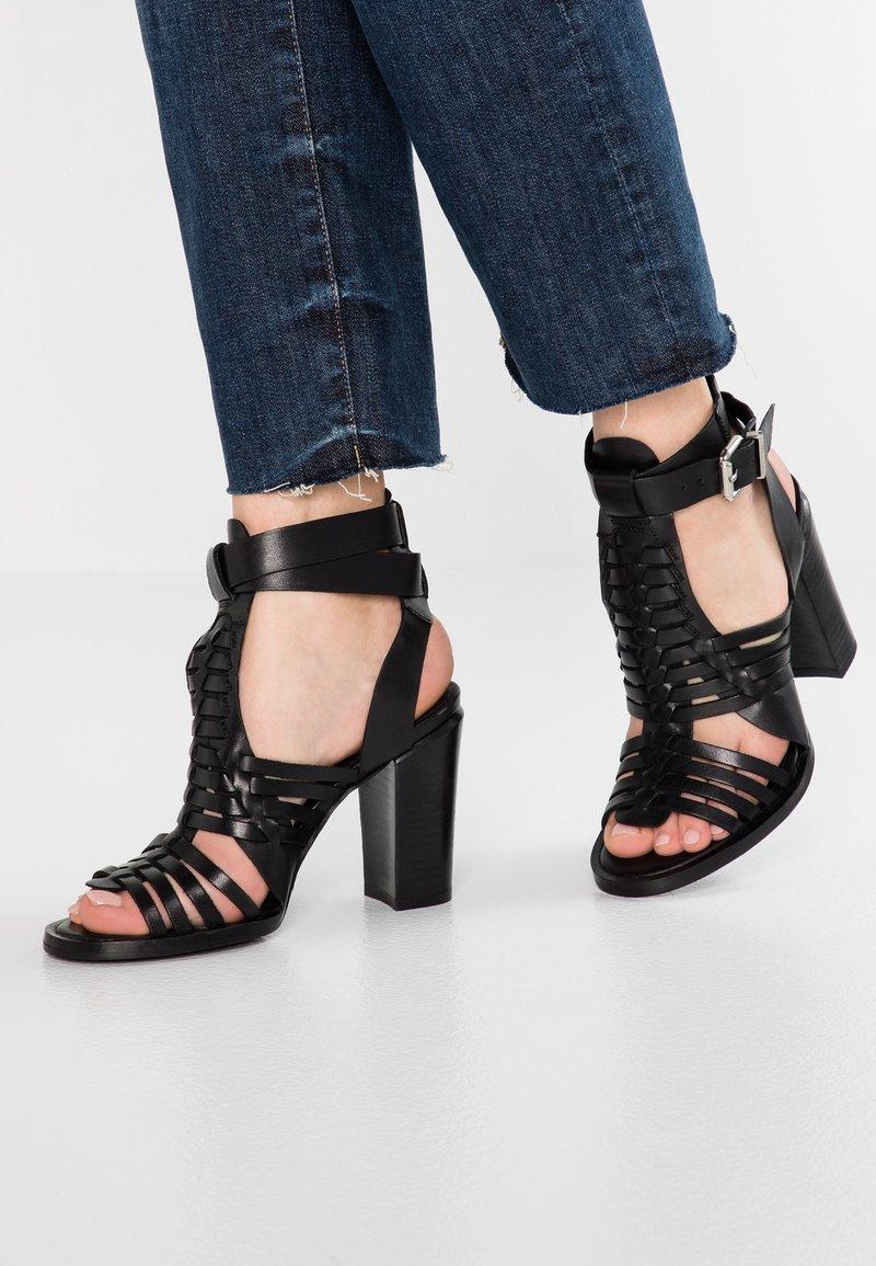 Bronx - HAYDEN - High heeled sandals - black