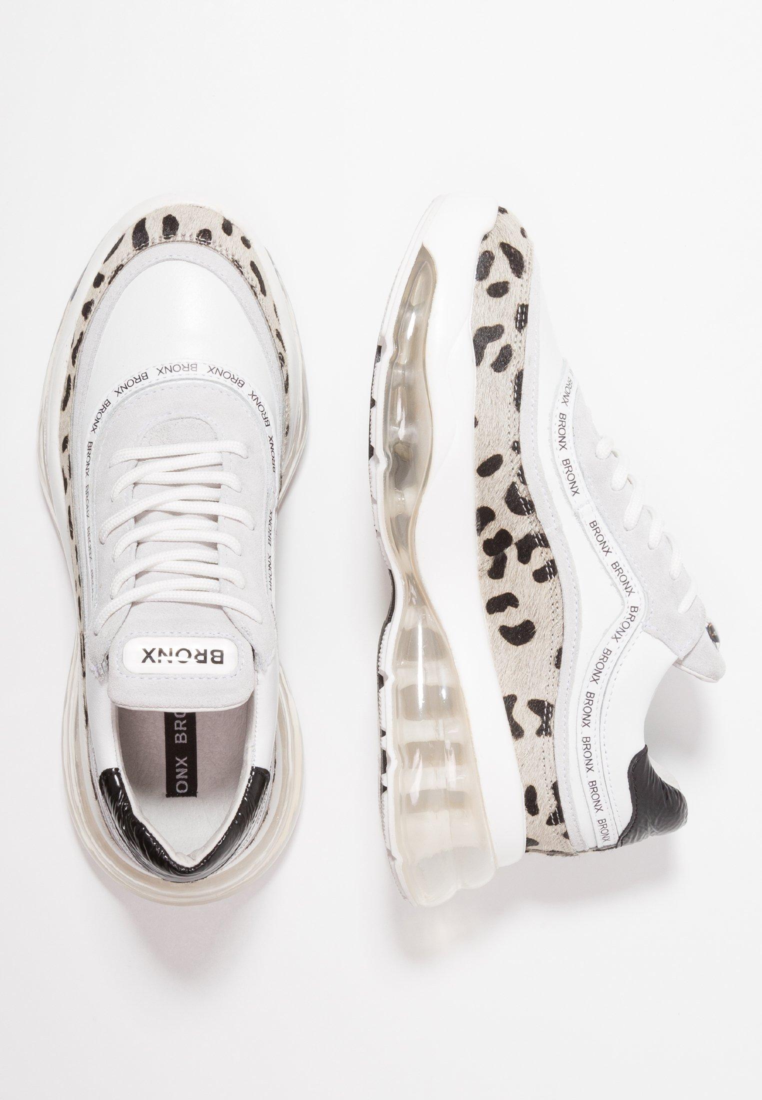 Bronx BUBBLY Sneakers laag whiteblack Zalando.nl