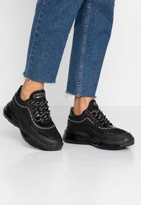 Bronx - BUBBLY - Sneaker low - black - 0