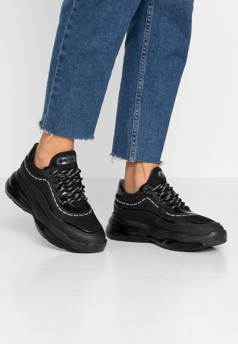 Bronx - BUBBLY - Sneaker low - black