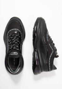 Bronx - BUBBLY - Sneaker low - black - 3